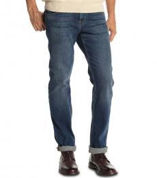 7 For All Mankind Dark Blue Slimmy Slim Jeans