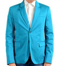 Versace Jeans Blue Two Button Blazer