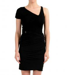 Just Cavalli Black Sheath Stretch Dress