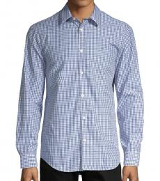 Calvin Klein Lake Checkered Classic-Fit Shirt