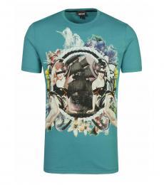 Aqua Graphic Logo T-Shirt
