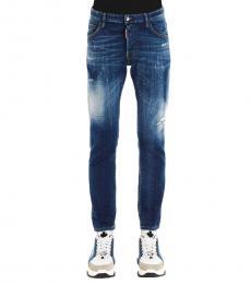 Dark Blue Skater Classic Jeans