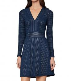 Midnight Jacquard Mini Dress
