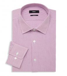 Pink Sharp-Fit Dress Shirt