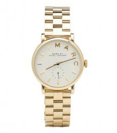 Marc Jacobs Gold Logo Watch
