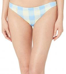 Ralph Lauren Blue Plaid Devin Hipster Bottoms