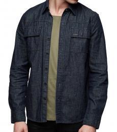 True Religion Inglorious Denim Button Down Shirt