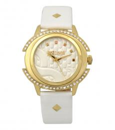 Just Cavalli White Classic Watch