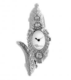 Silver Snake Bracelet Watch