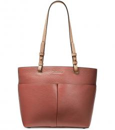 Sunset Peach Bedford Large Tote