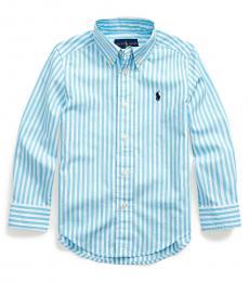 Ralph Lauren Little Boys Neptune Striped Shirt