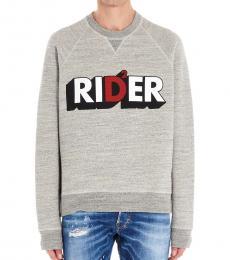 Grey Rider Graphic Sweatshirt
