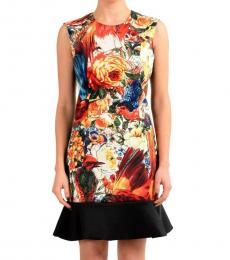 Just Cavalli Multi-Color Sheath Dress