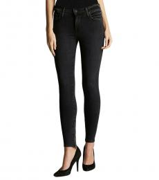 True Religion Tar Wash Super Skinny Jeans