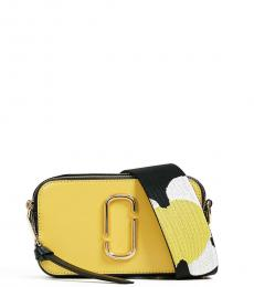 Marc Jacobs Yellow Snapshot Small Crossbody