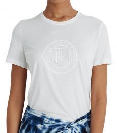 Ralph Lauren White Graphic Logo Tee