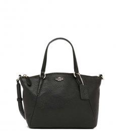 Coach Black Kelsey Small Satchel