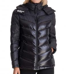 Michael Kors Black Logo Puffer Jacket