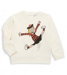 Stella McCartney Baby Girls Mangolia Betty Cotton Sweatshirt