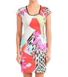 Just Cavalli Multi-Color Sleeveless Dress