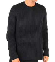 Midnight Blue Ribbed Sweater