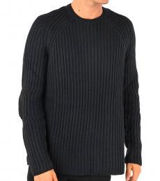 Neil Barrett Midnight Blue Ribbed Sweater