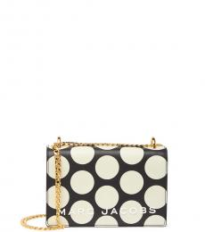 Marc Jacobs Black Double Take Dot Mini Shoulder Bag