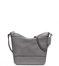 Grey Paxton Medium Crossbody