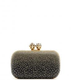Black Skull Four Ring Clutch
