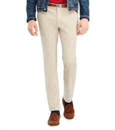 Ralph Lauren Grey Slim-Fit Corduroy Pantss