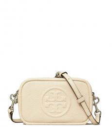 Tory Burch New Cream Perry Bombe Mini Crossbody