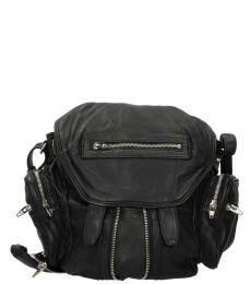 Alexander Wang Black Side Pocket Large Backpack