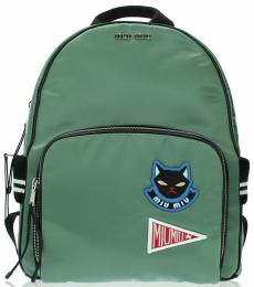 Green Cat Large Backpack