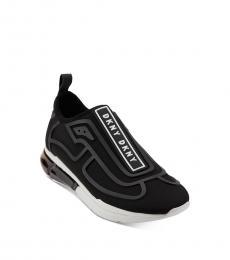 Black Nilli Slip-On Sneakers