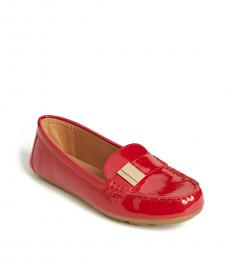 Crimson Red Lisa Loafers