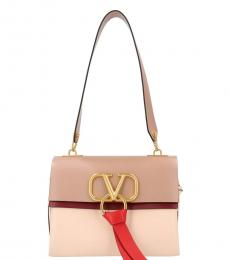 Beige Vring Medium Shoulder Bag