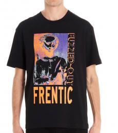 McQ Alexander McQueen Black Frentic graphic t-shirt
