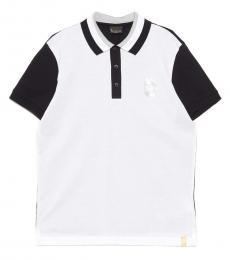 Billionaire Blackwhite Logo Crest Polo