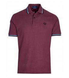 Fred Perry Cherry Logo Patch Polo