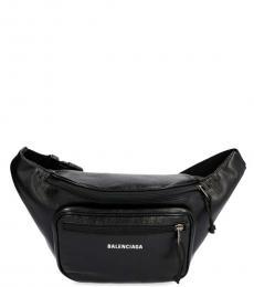 Balenciaga Black Explorer Fanny Pack