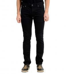 Roberto Cavalli Black Stretch Skinny Jeans