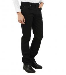 Armani Jeans Black Stretch Denim Jeans