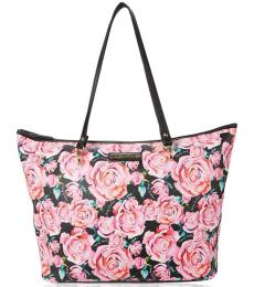 Juicy Couture Pink Black Oops A Daisy Large Tote
