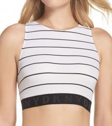DKNY White Litewear Seamless Bralette
