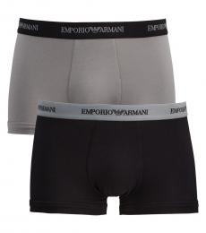 Grey 2-Pack Boxer Briefs