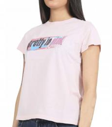 Marc Jacobs Pink Graphic T-Shirt