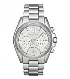 Michael Kors Silver Steal Bradshaw Watch