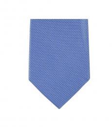 Michael Kors Blue Well Tailored Slim Silk Tie
