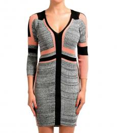 Just Cavalli Multi-Color Bodycon Dress