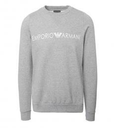 Emporio Armani Grey Logo Sweatshirt